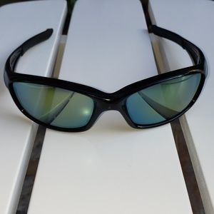 Oakley 04-325 Mens Straight Jacket Black Sunglass